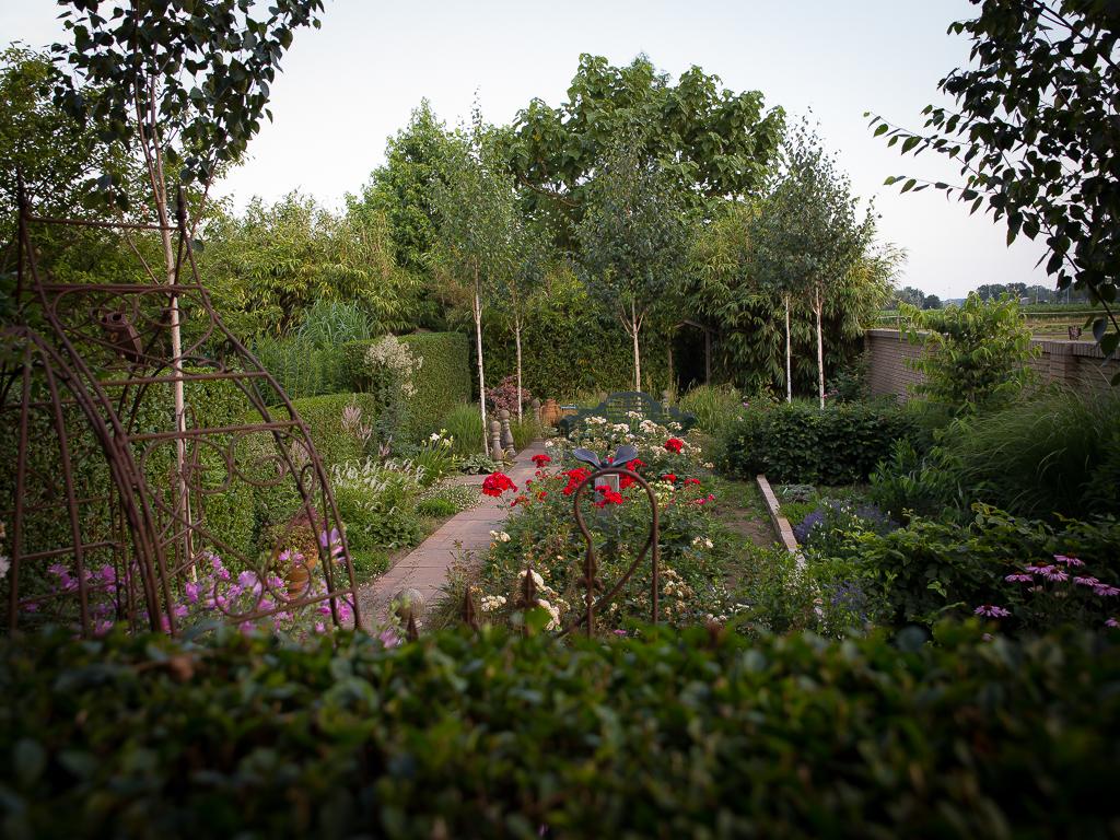 De formele tuin