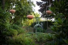 De ronde tuin